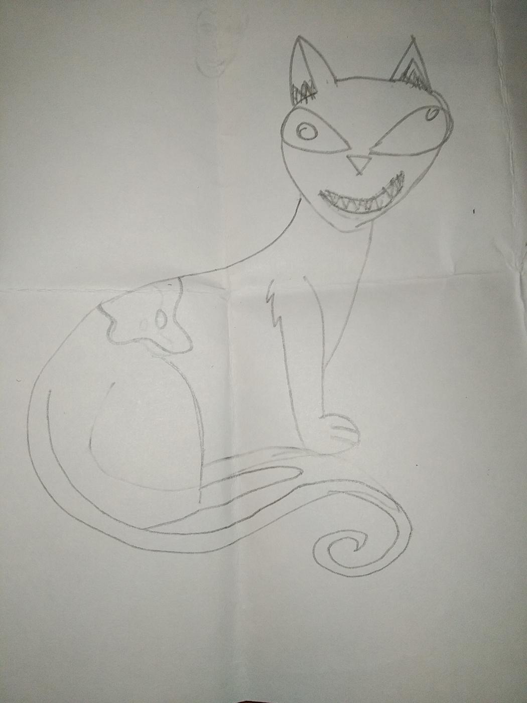 Zina Vladimirovna Parisva. Cat (from the cartoon)