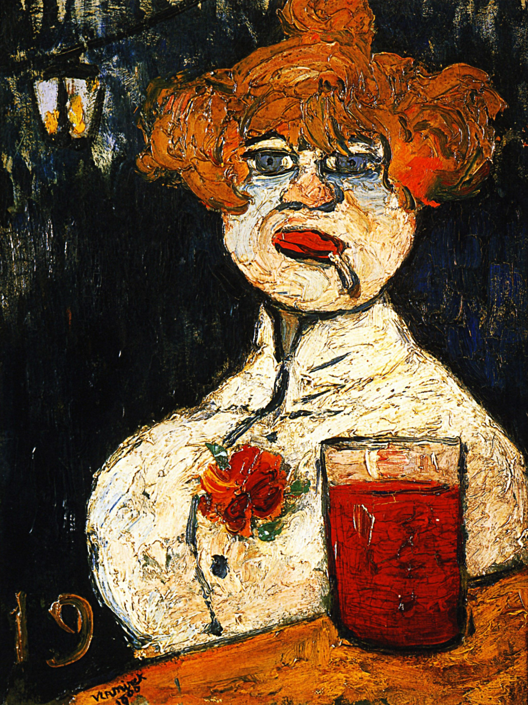Maurice de Vlaminck. At the bar