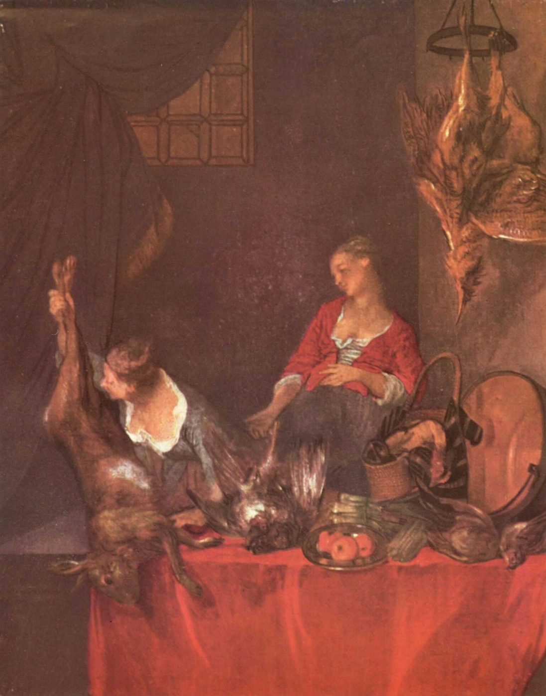 Nicolas Lancret. Kitchen