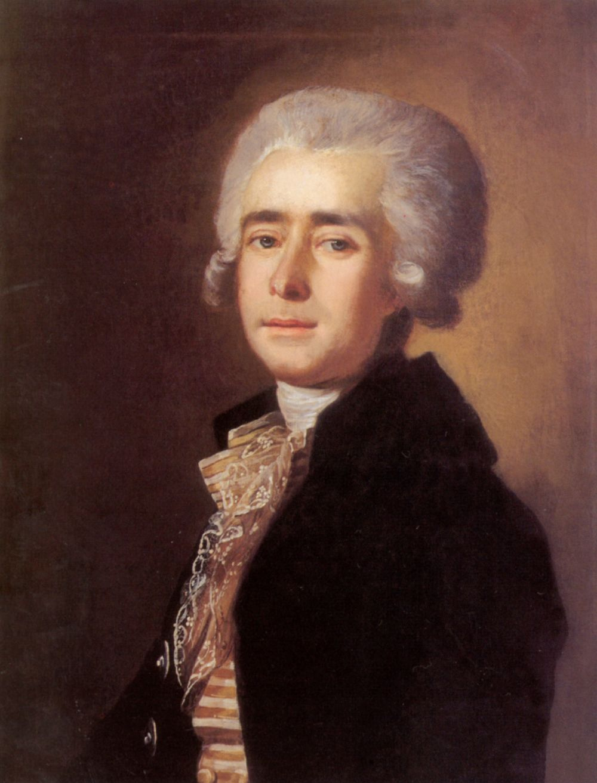 Mikhail Ivanovich Belsky. Portrait of the composer Dmitry Stepanovich Bortnyansky