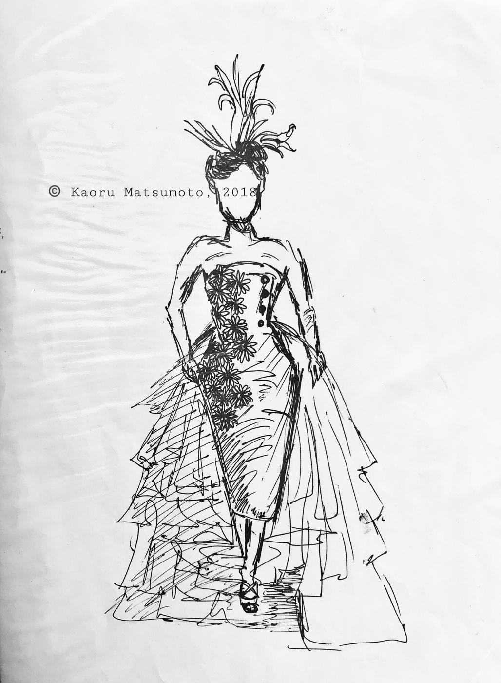 Kaoru Matsumoto. Sketch