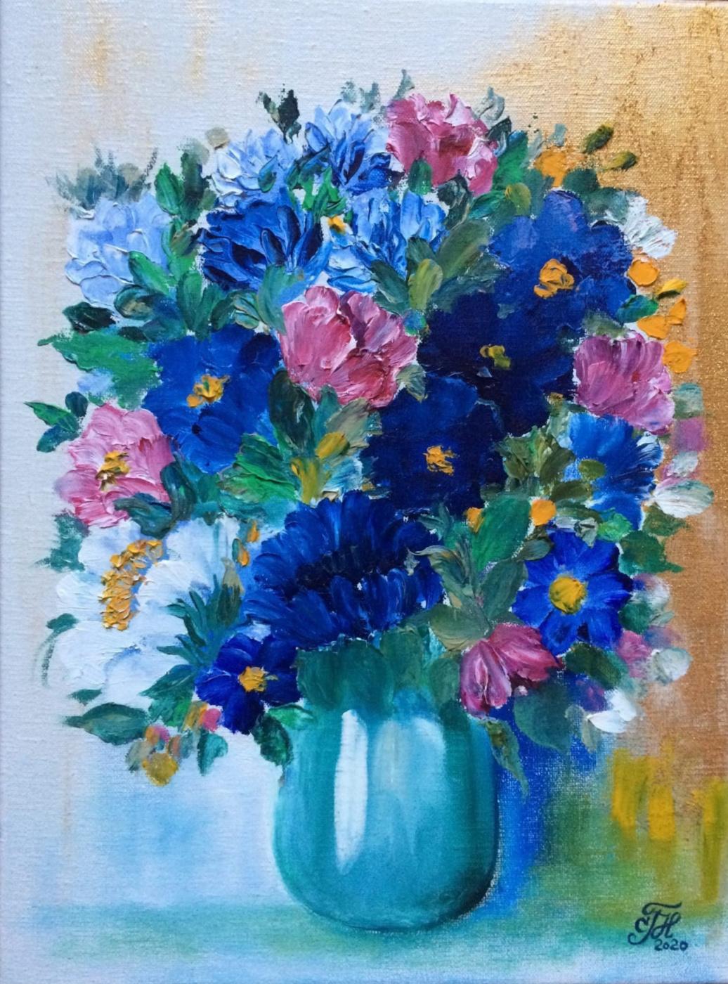 Galina Nikolaevna Silina. RUNNERS-FLOWERS,
