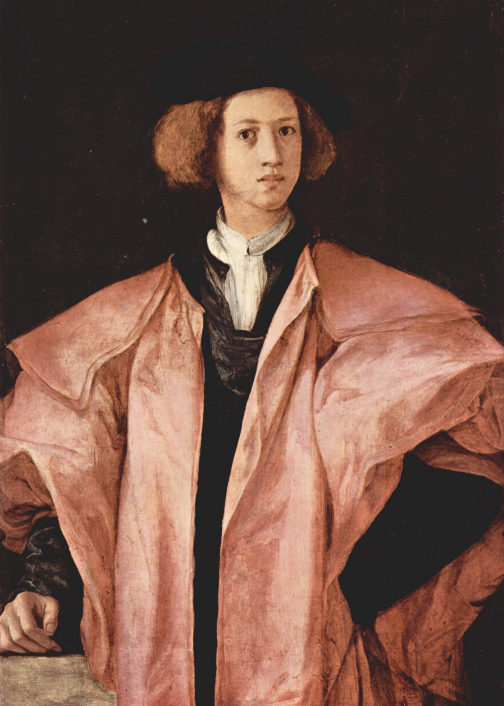 Jacopo Pontormo. Portrait of a young man