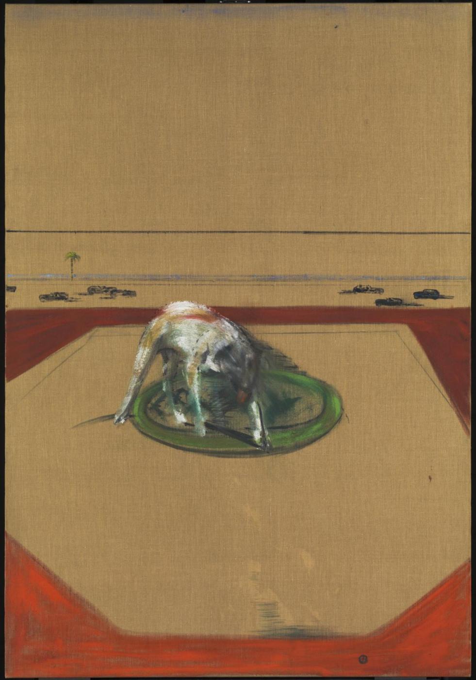 Francis Bacon. Sketch dog