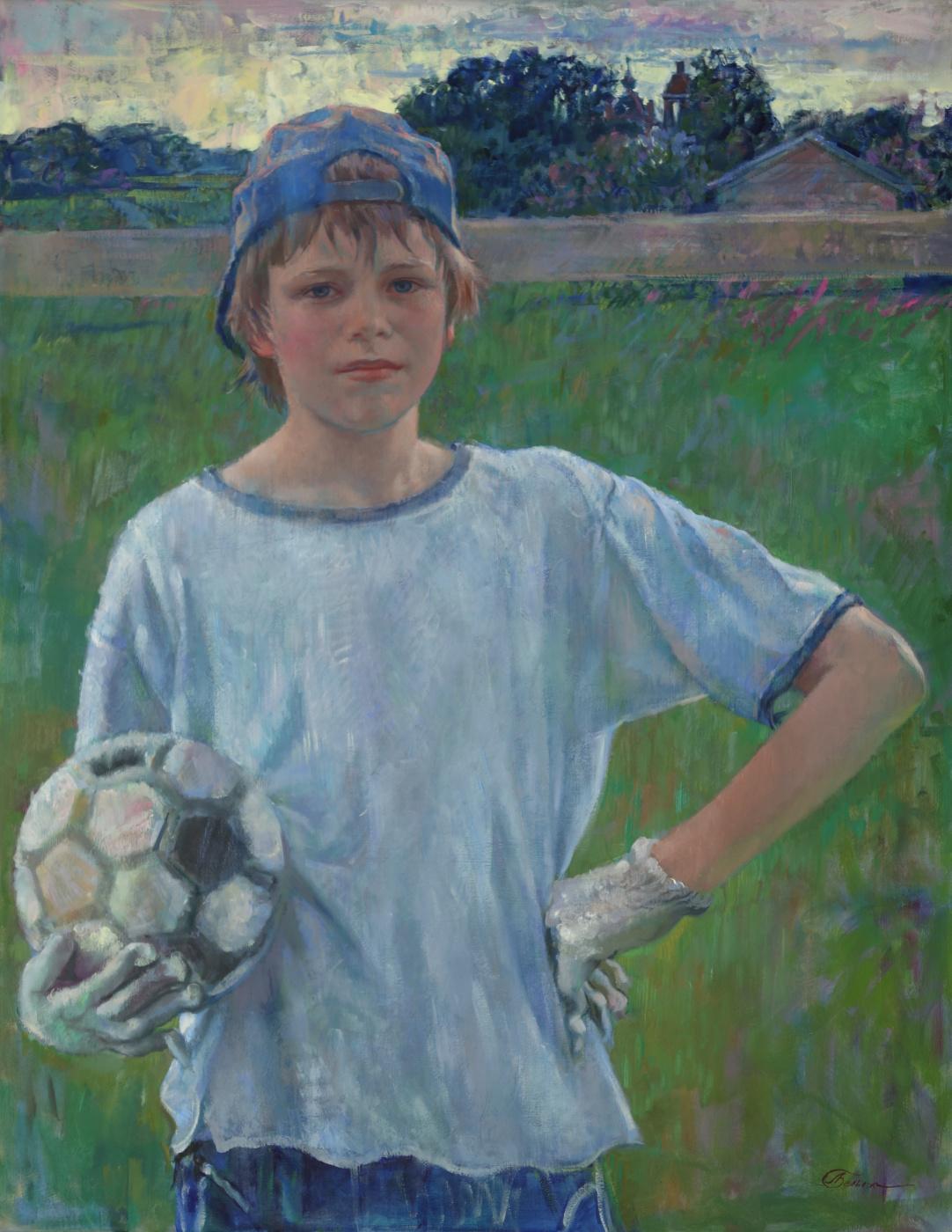 Love White. Goalkeeper