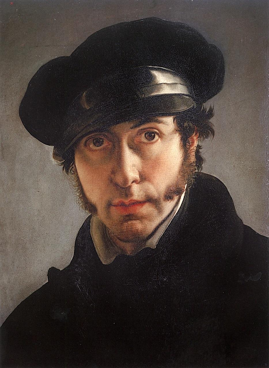 Francesco Ayets. Self-portrait at 31
