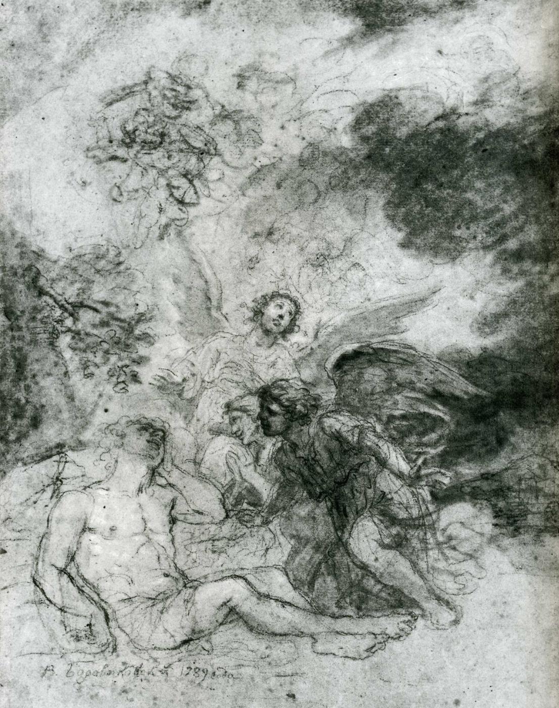 Vladimir Borovikovsky. Jacob's Dream