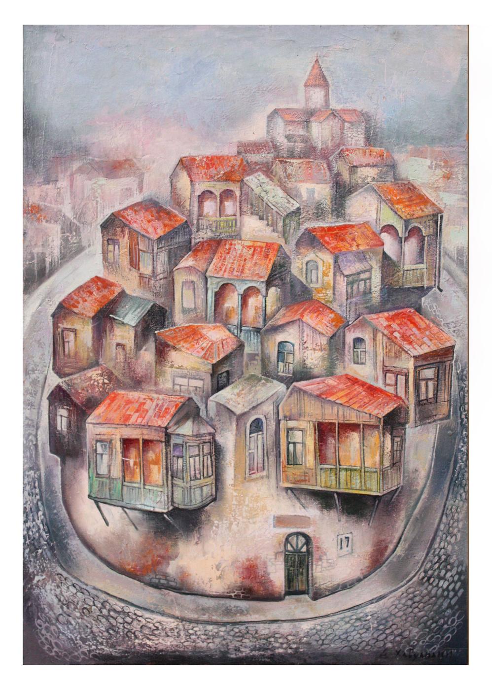 Emzar Khabuliani. Old town