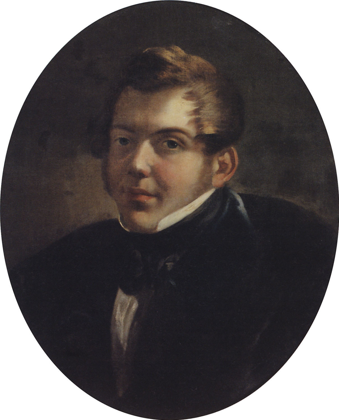 Karl Bryullov. Portrait of the architect M. O. Laparascope
