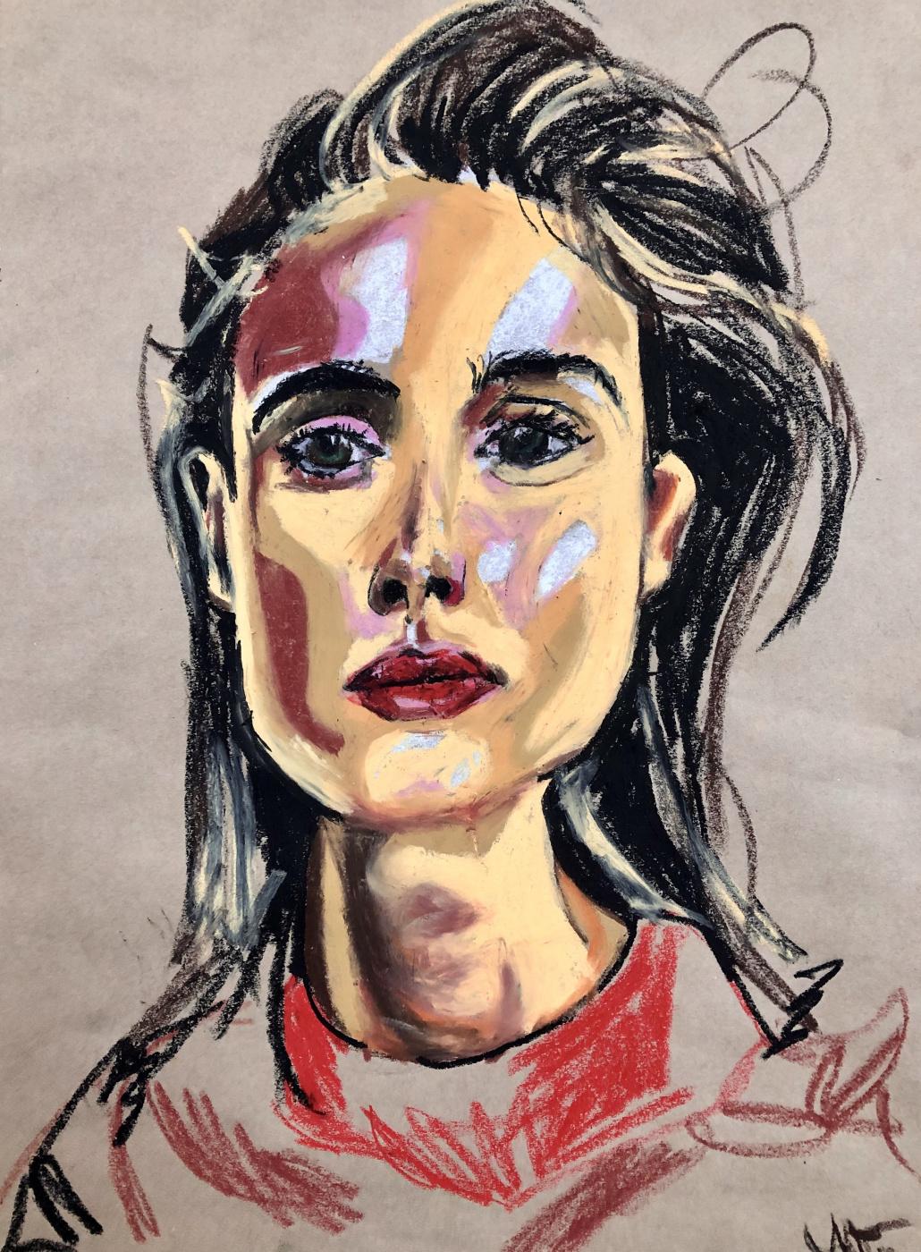 Victoria Igorevna Orlova. Portrait number 6