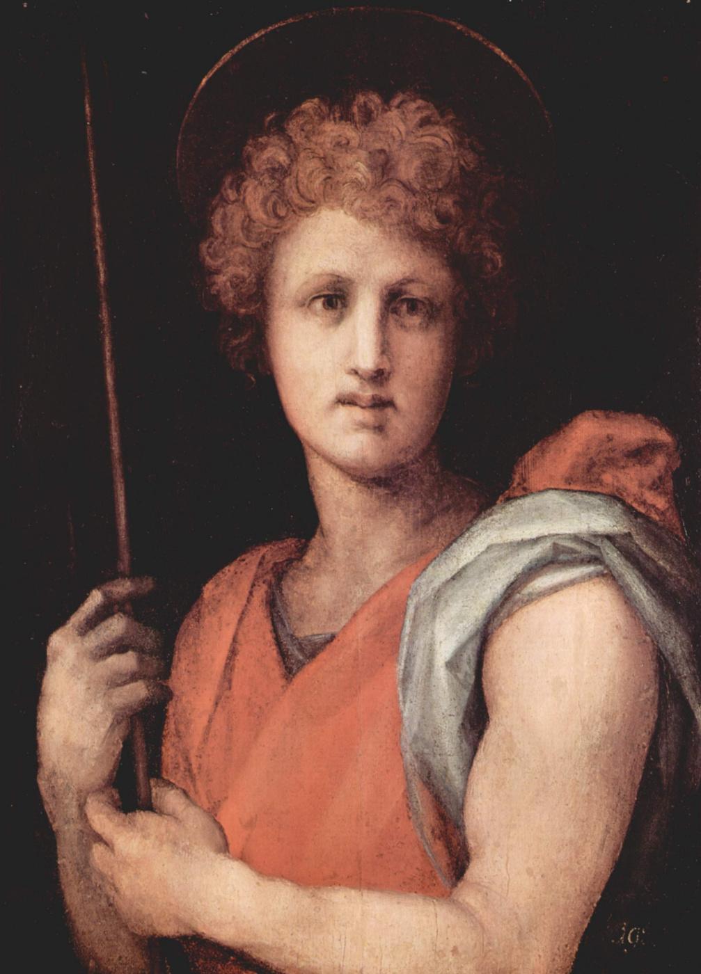 Jacopo Pontormo. Saint Sebastian