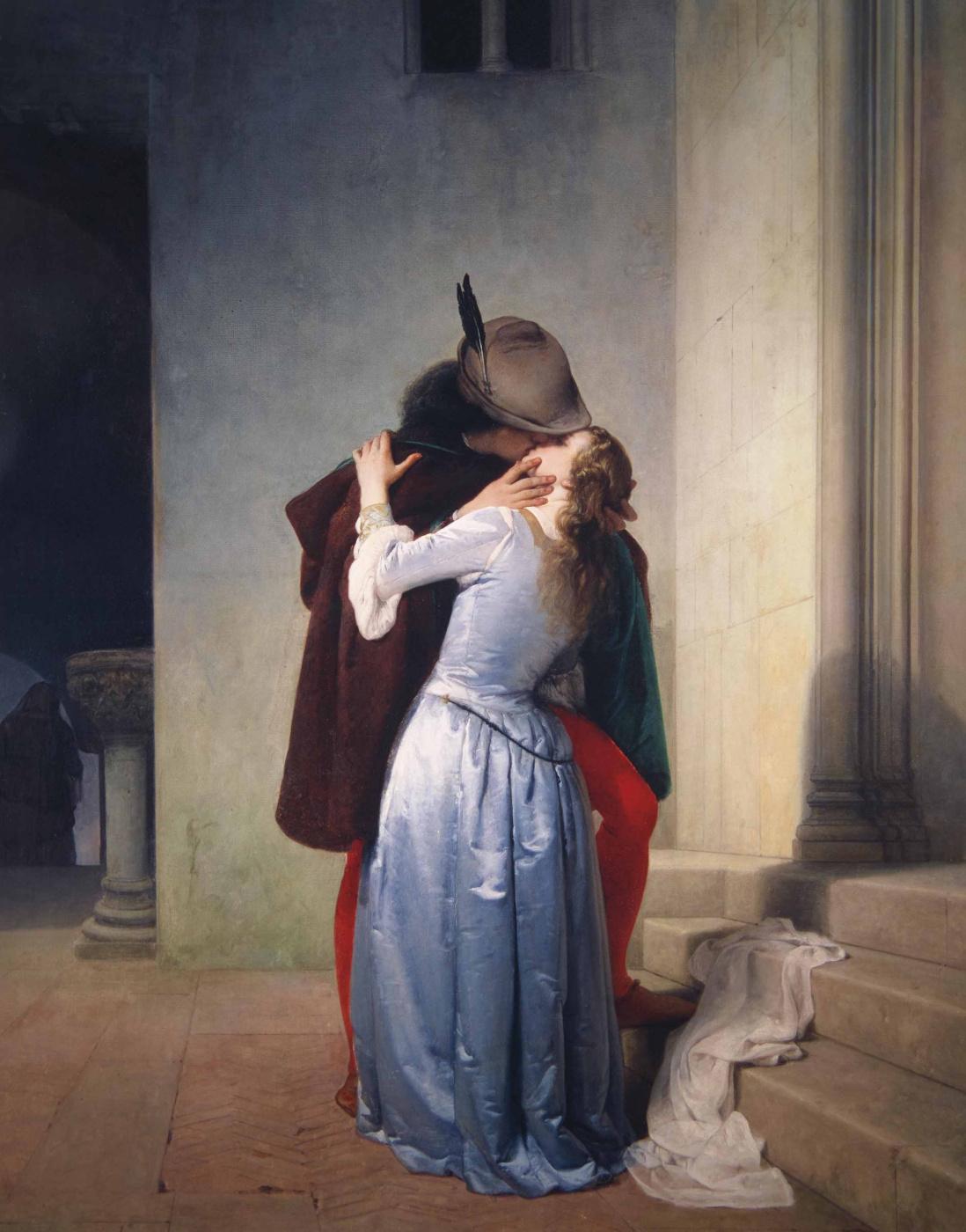 Francesco Ayets. The Kiss (Il Bacio)
