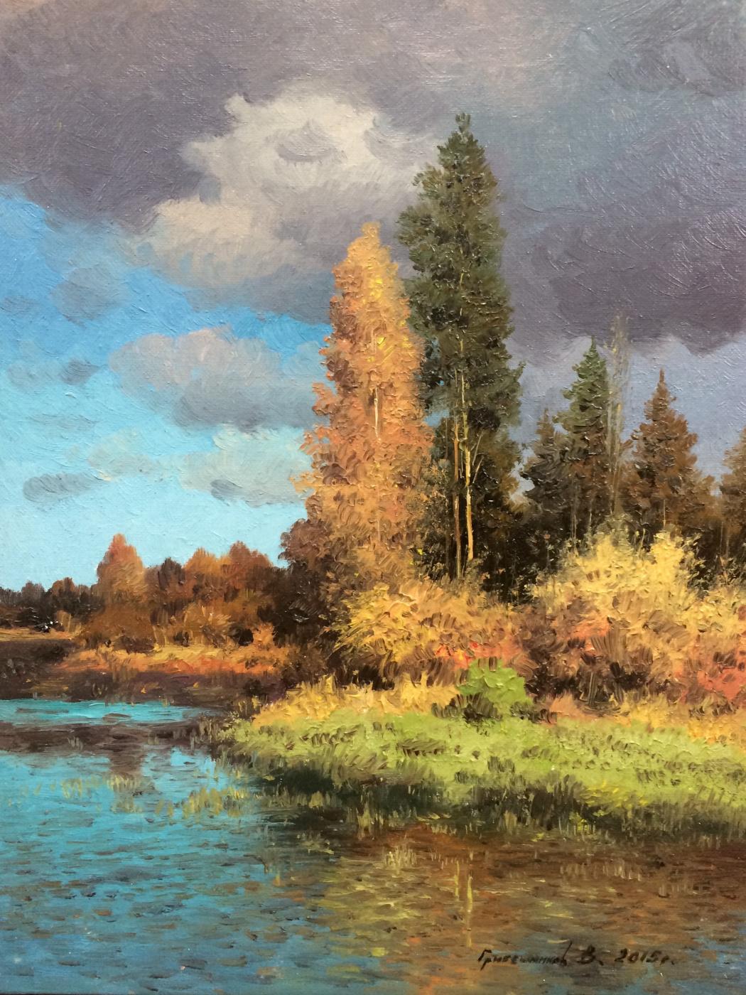 Vasily Ivanovich Gribennikov. Autumn motive