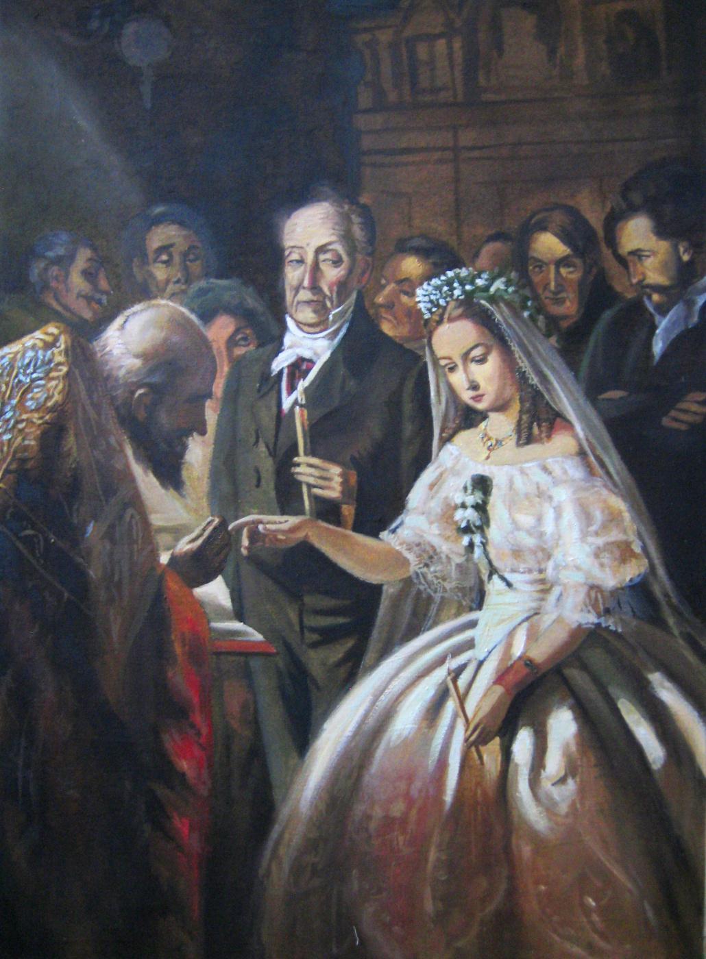 Olga Suncheleeva. Unequal marriage (copy)