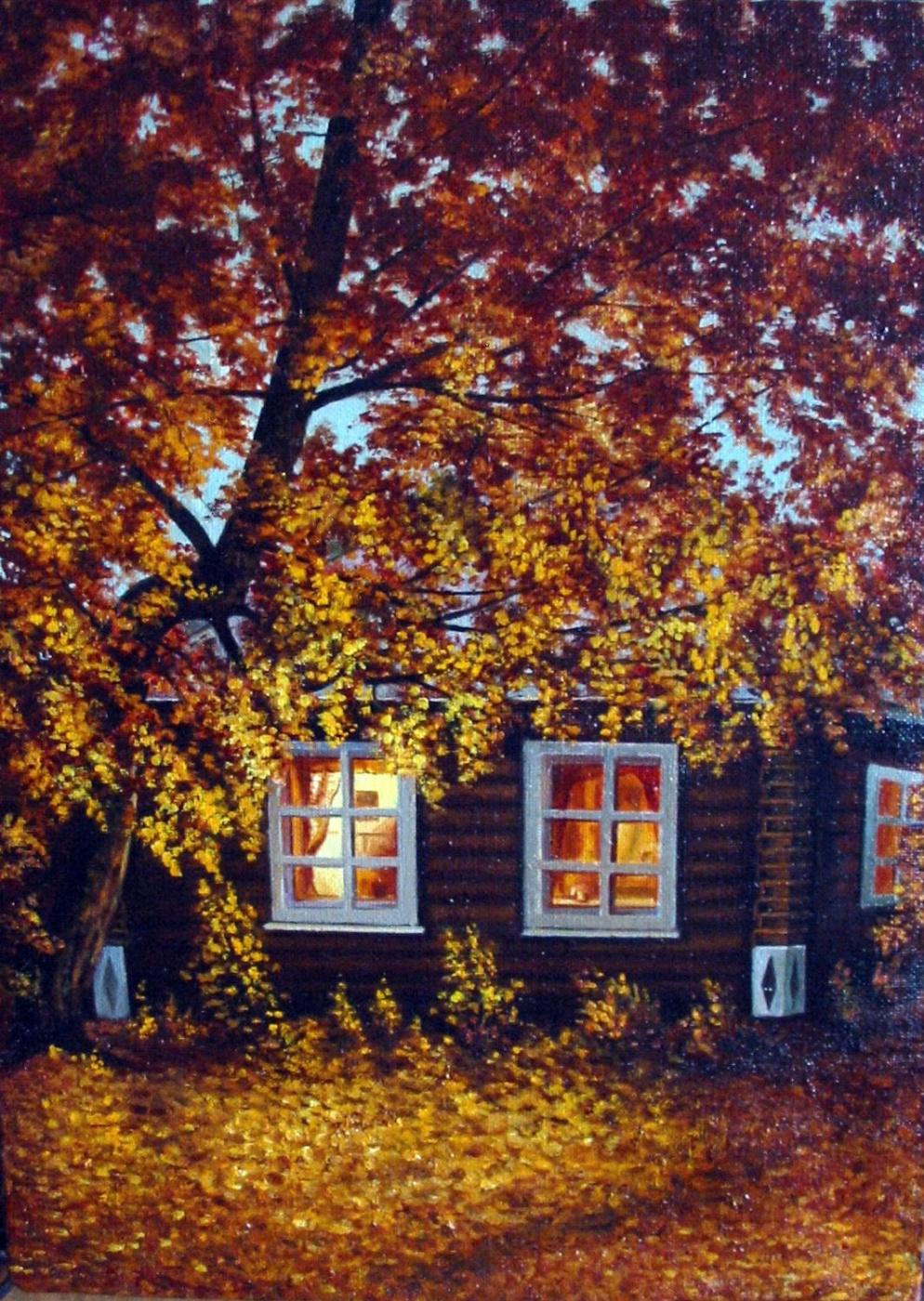 Vladimir Vasilyevich Abaimov. One autumn Evening…