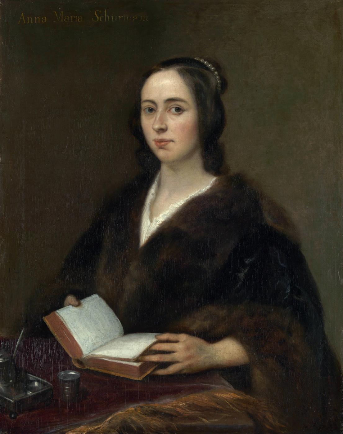 Jan Lievens. Portrait of Anna Maria van Schurman