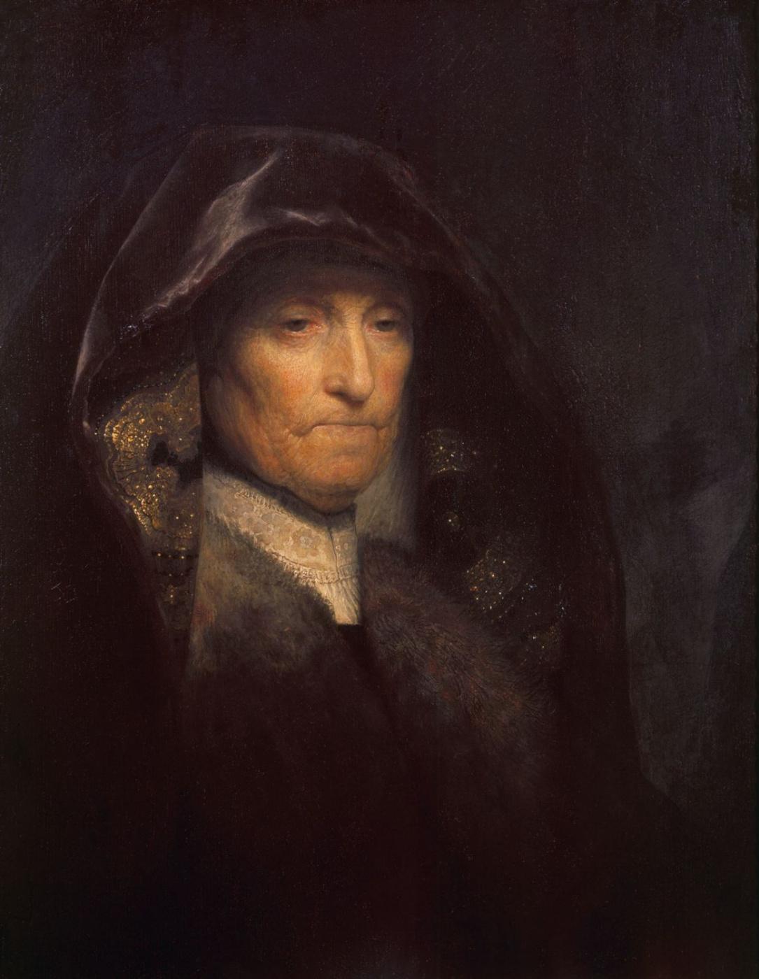 Rembrandt Harmenszoon van Rijn. Portrait of the artist's mother