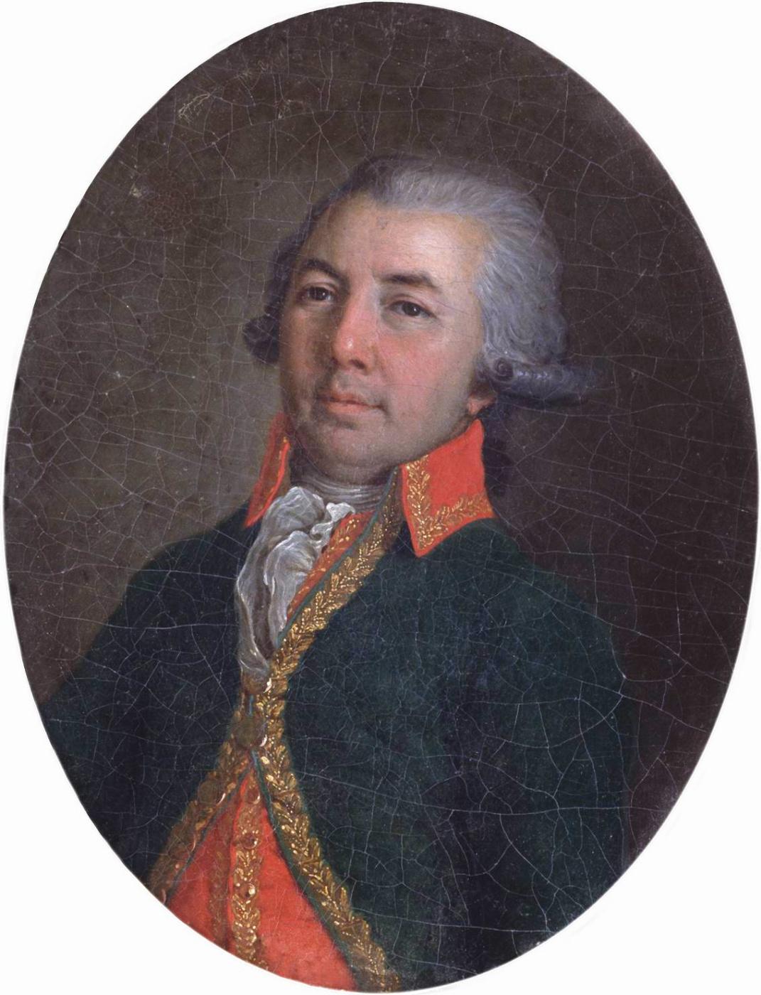 Vladimir Borovikovsky. Portrait of Derzhavin