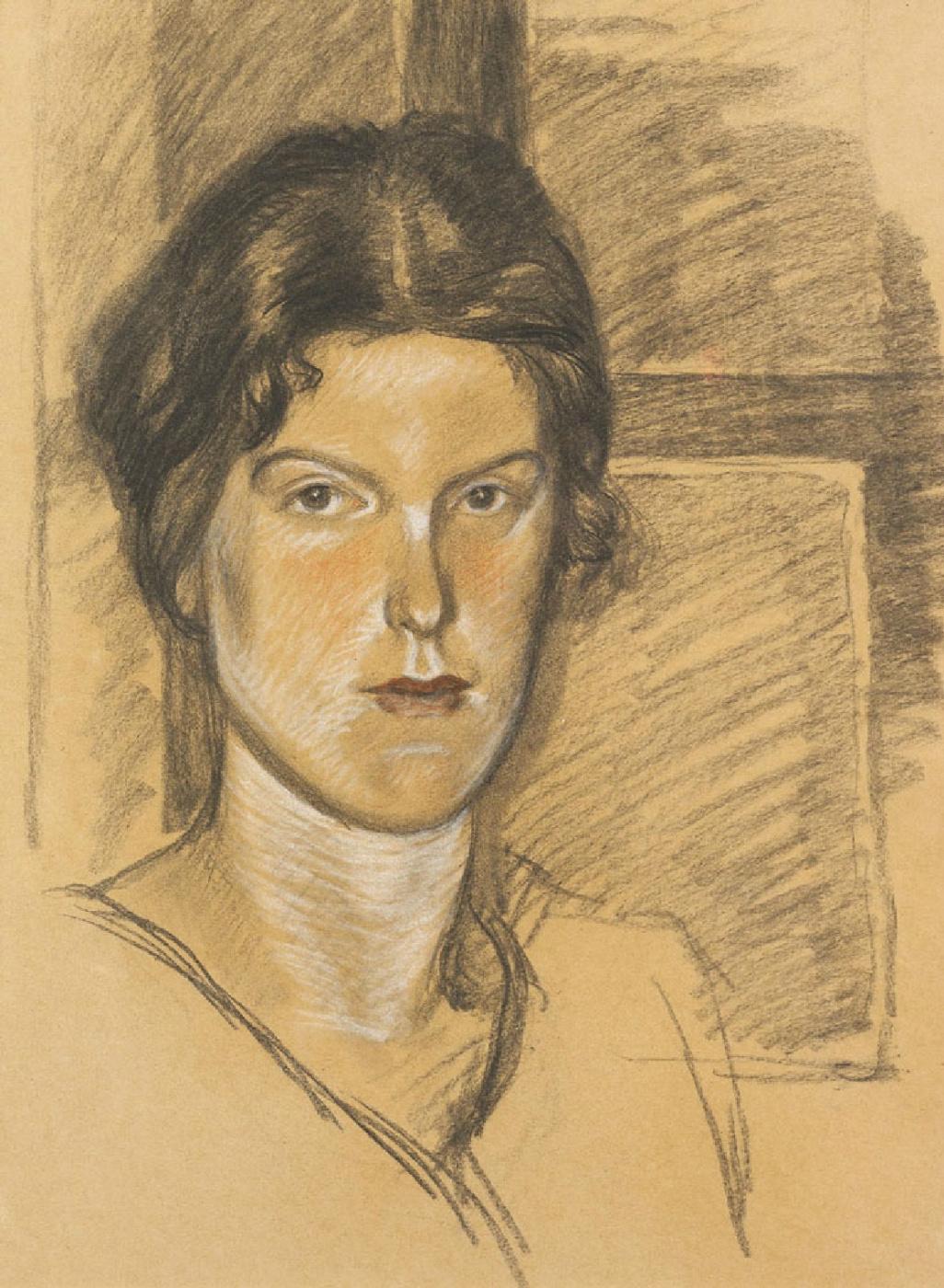 Theophile-Alexander Steinlen. Portrait of Mrs. Björnsson Langen