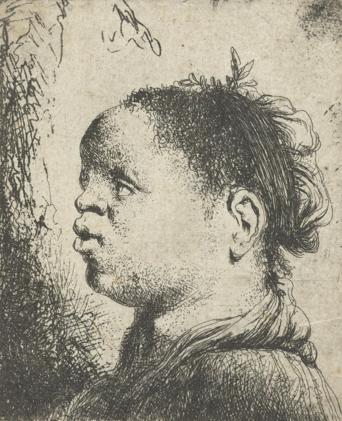 Jan Lievens. Portrait of a black woman