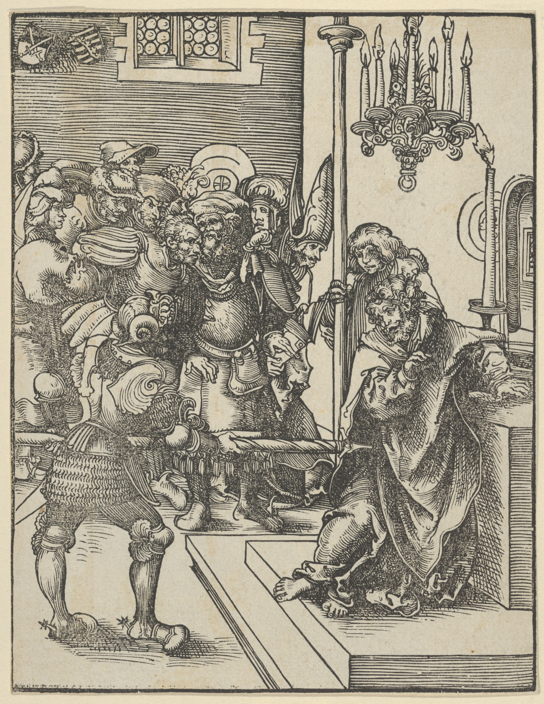 Lucas Cranach the Elder. The martyrdom of the Apostle Thomas