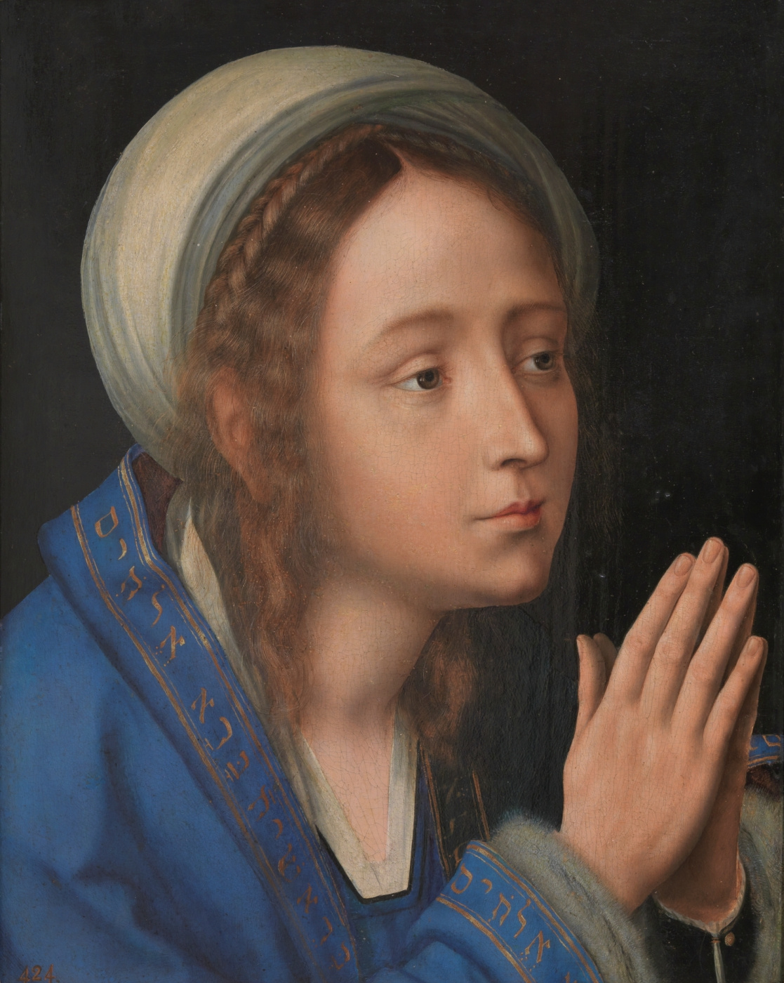 Quentin Masseys. Virgin in prayer