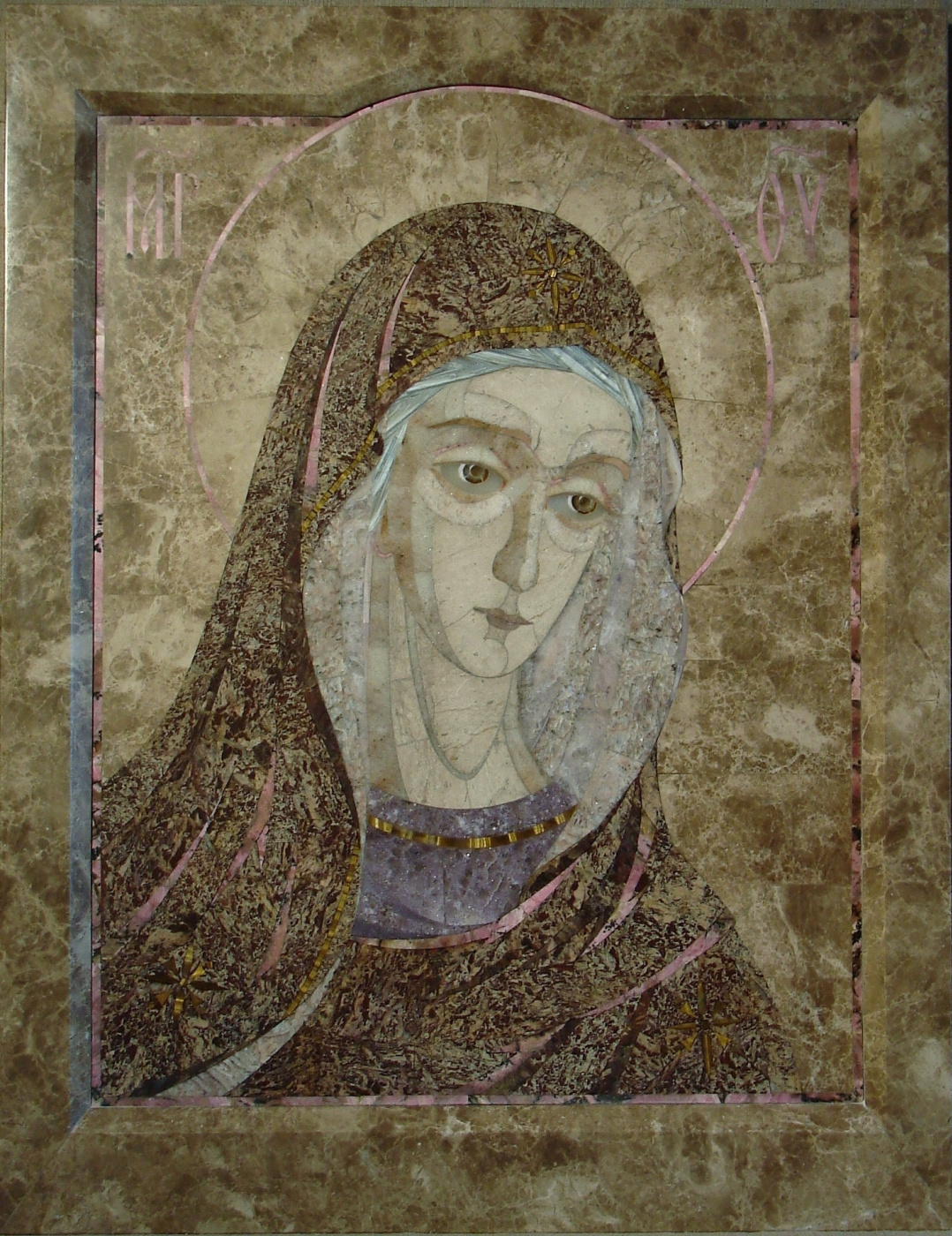 The mother of God (Deesis fragment)