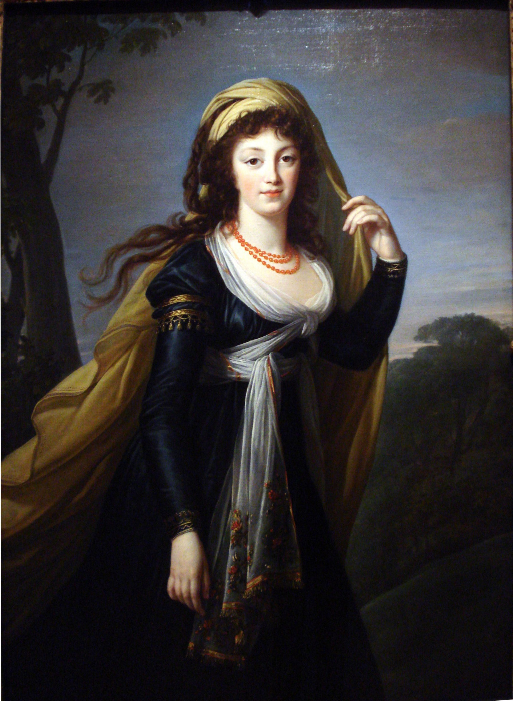 Elizabeth Vigee Le Brun. Theresa, Countess Kinsky