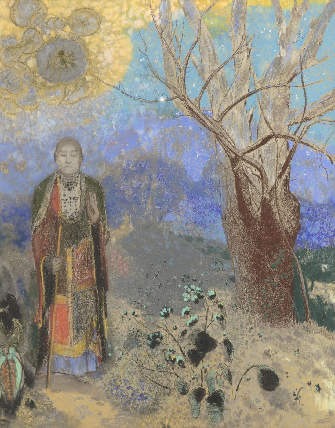 Odilon Redon. Buddha