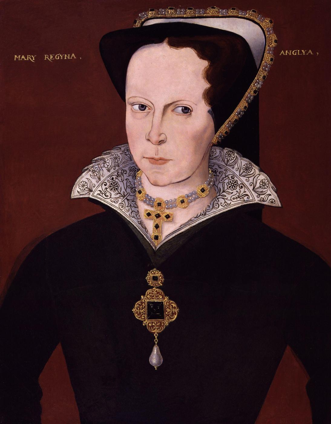 Unknown artist. Mary I Tudor