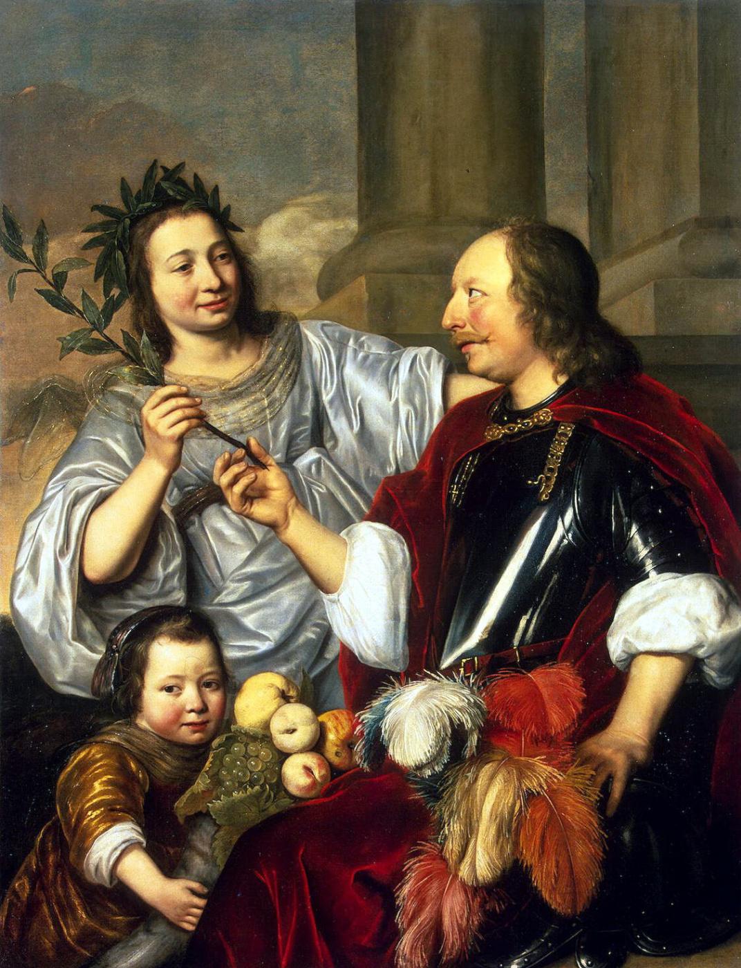 Jan de Bry. Allegorical family portrait