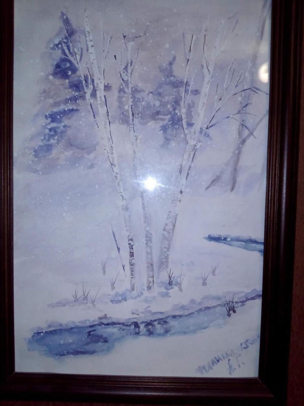 Andrei Filippovsky. Winter landscape