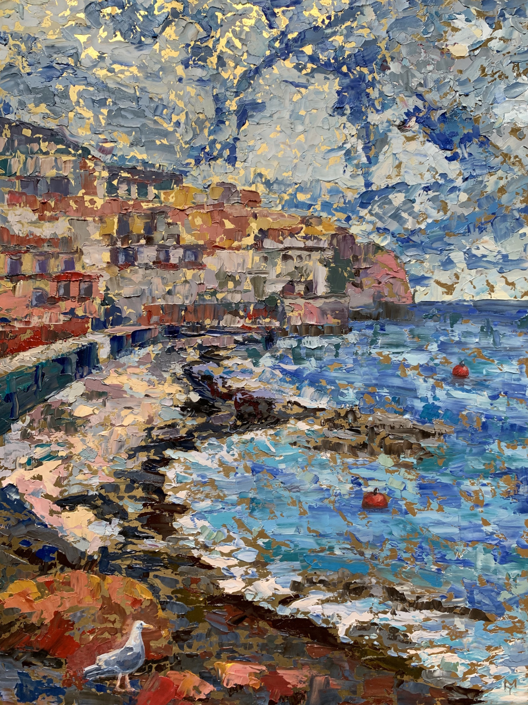 Julia Mamontova. On the coast of Sicily