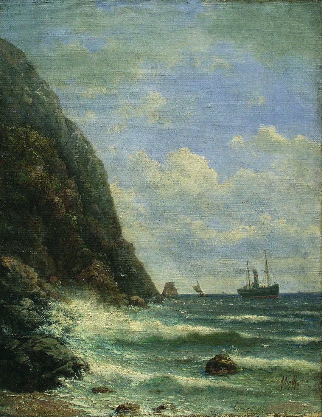 Lev Feliksovich Lagorio. Off the coast of Crimea