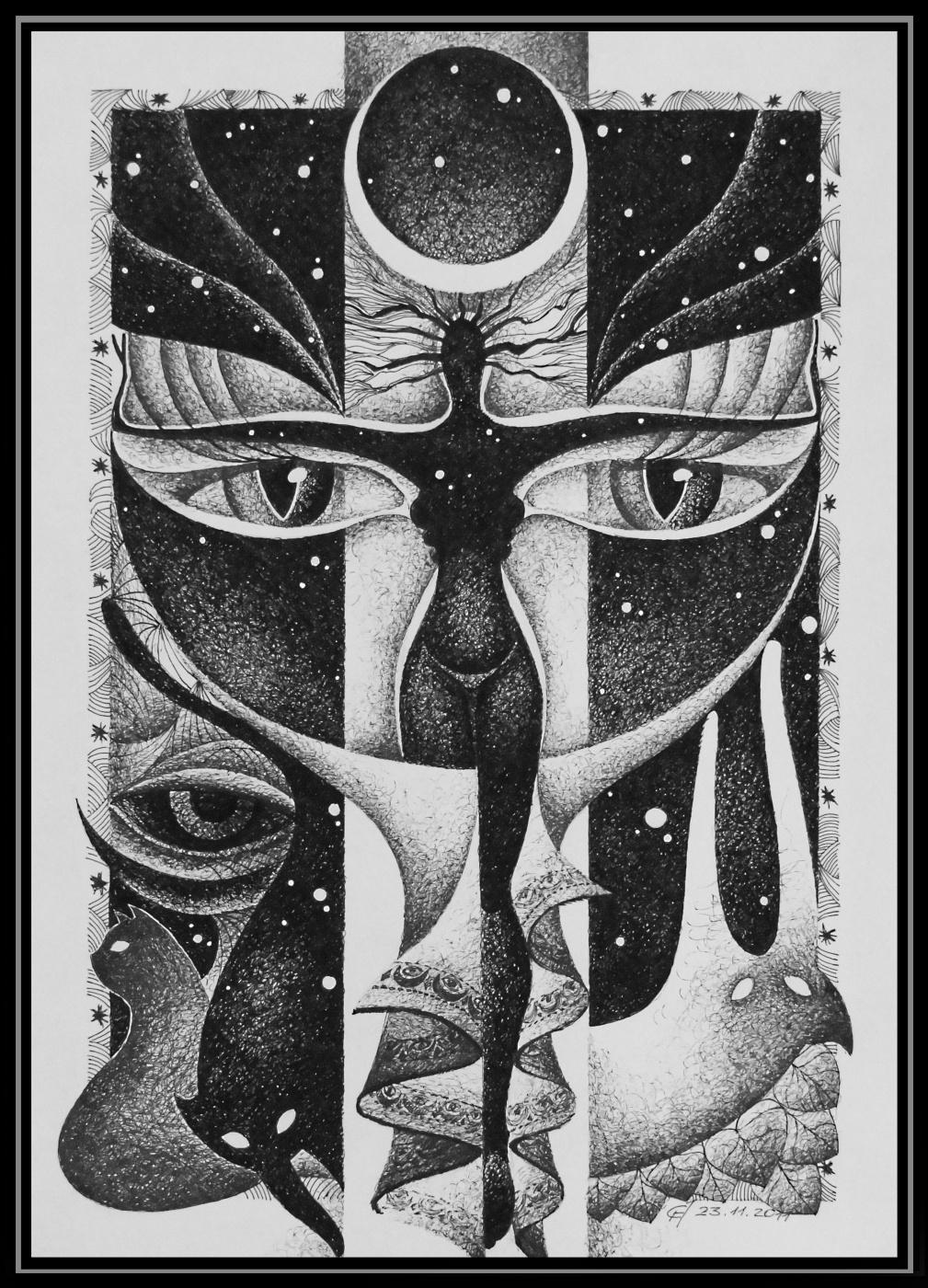 Georgy Stepanov. Abduction moon