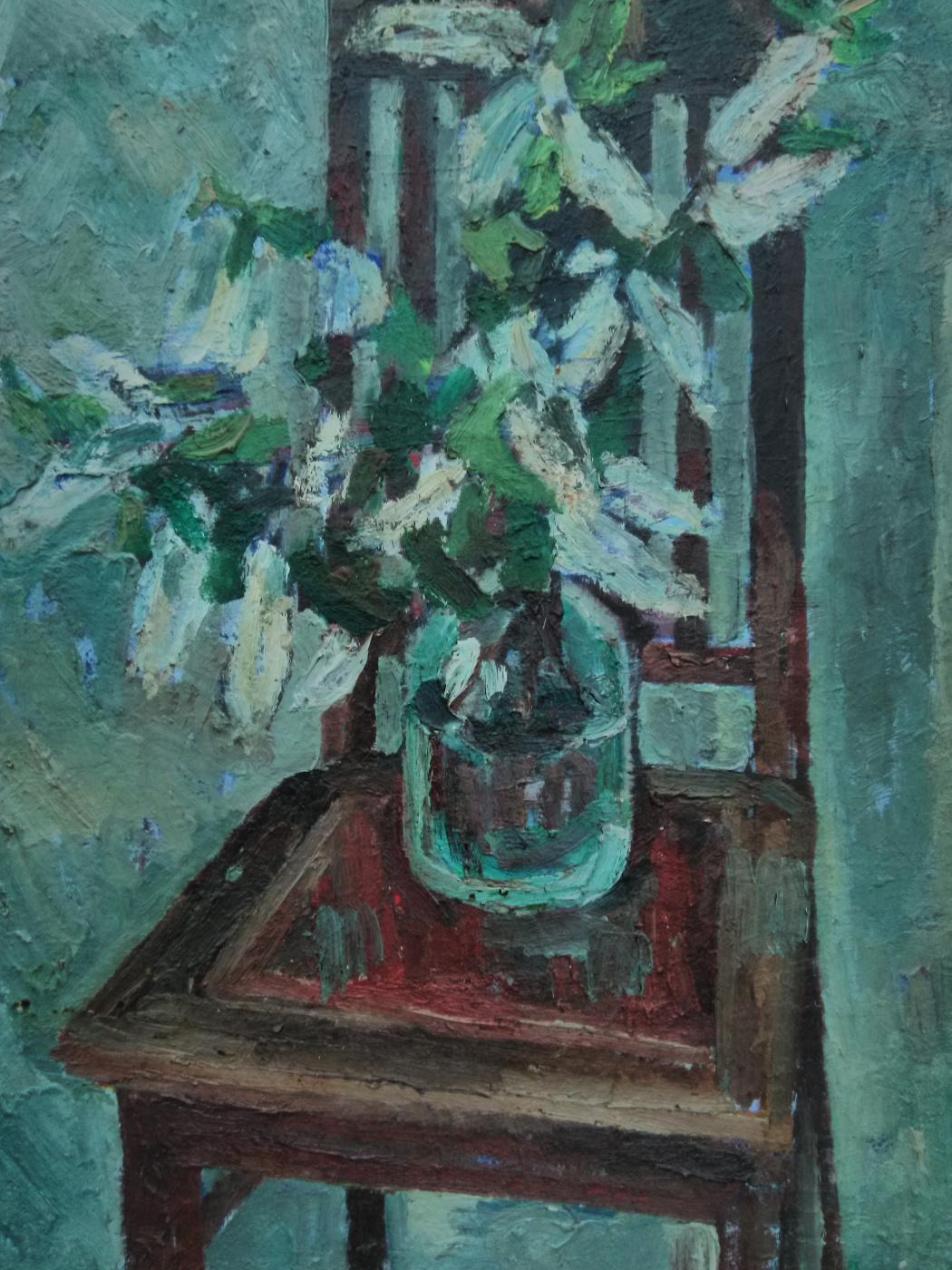Evgeny Ivanovich Mironov. Bird cherry