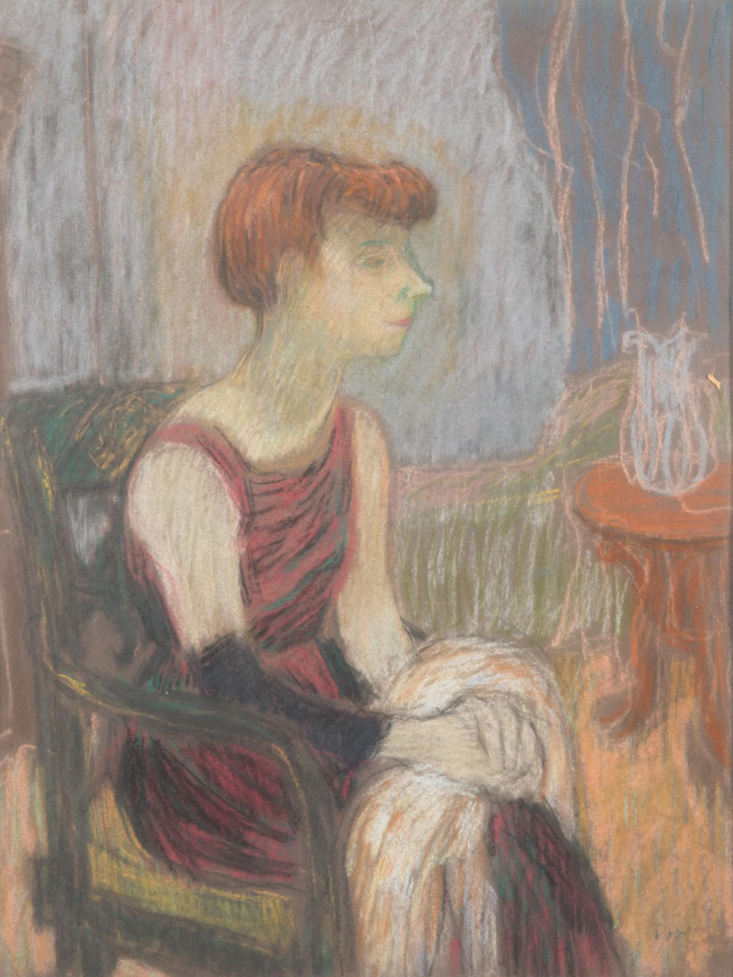Tove Jansson. Portrait of Tuulikki Pietil