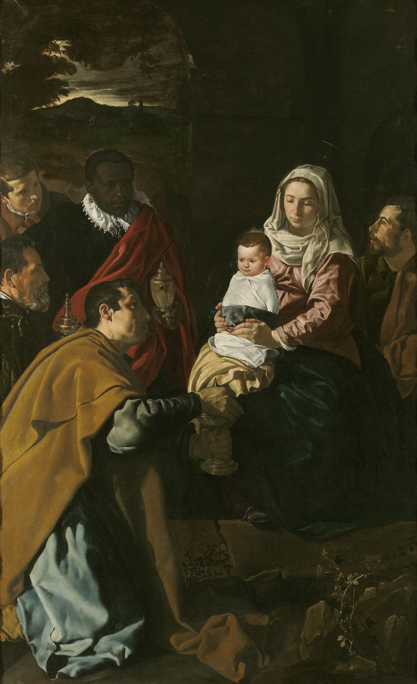 Diego Velazquez. The adoration of the Magi