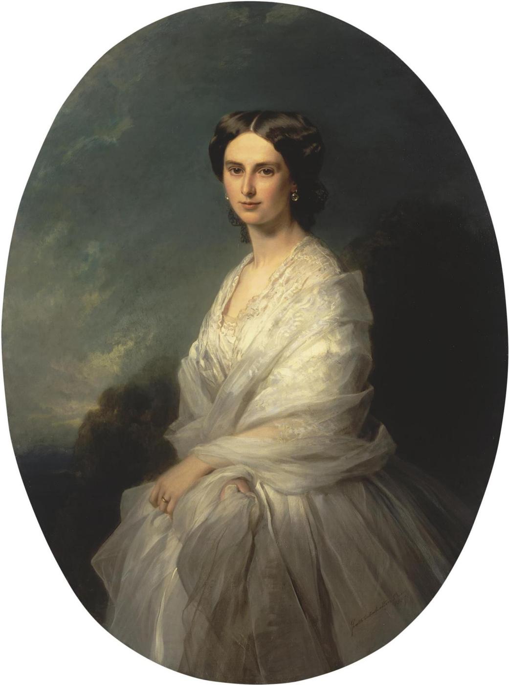 Franz Xaver Winterhalter. Portrait of Countess Sophia Andreevna the Bobrinskaya