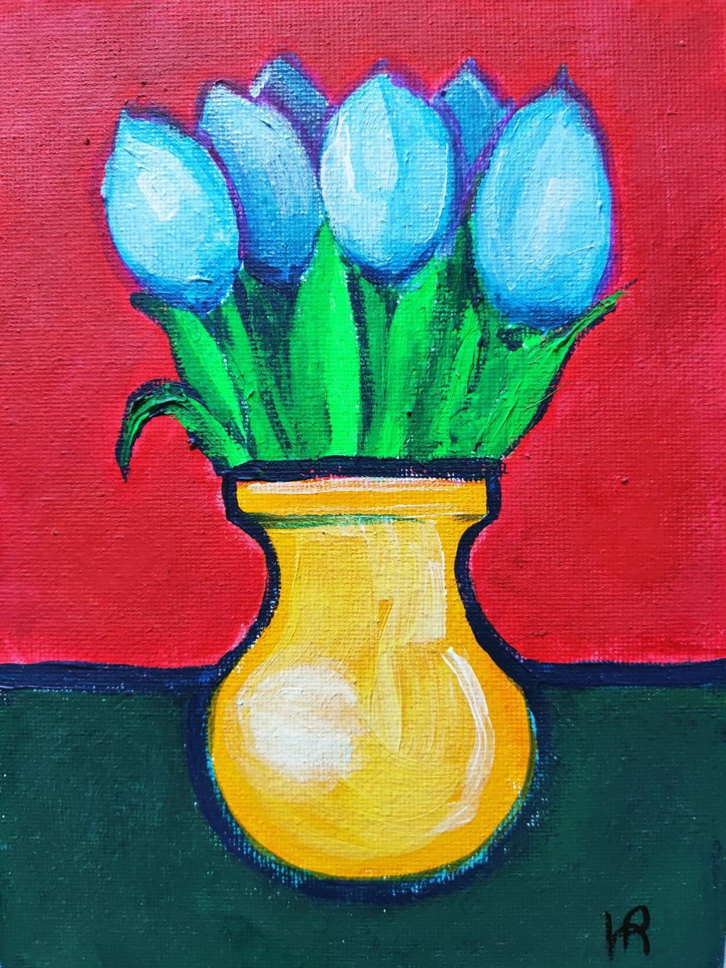Ирина Викторовна Иванова. Blue tulips