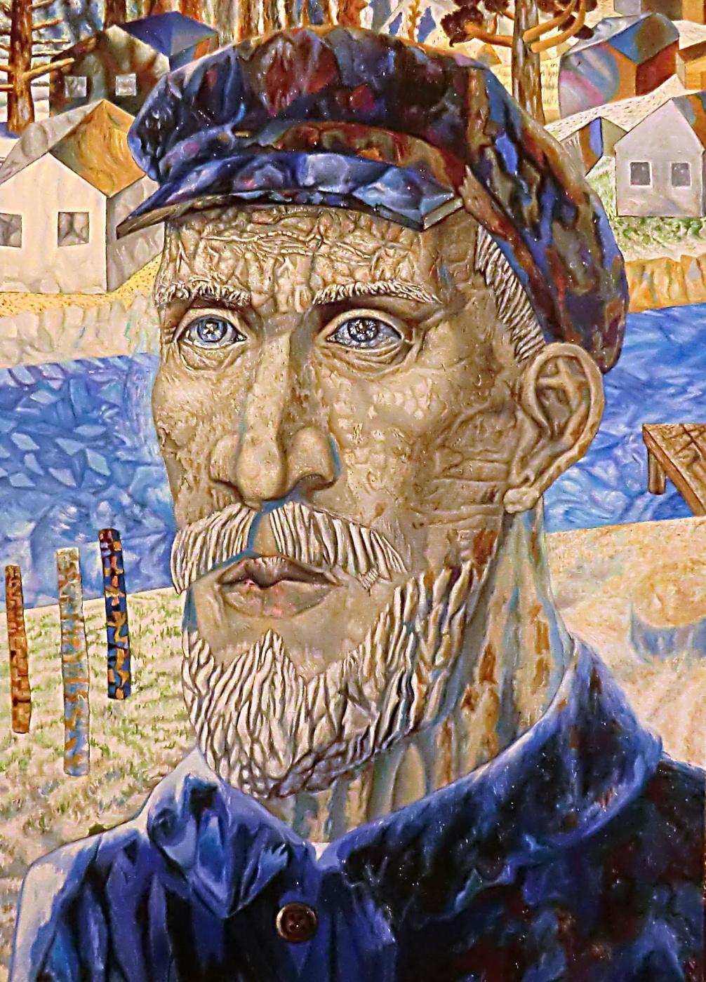 Valery Vasilyevich Litvinov. Collective farmer (copy from Filonov)