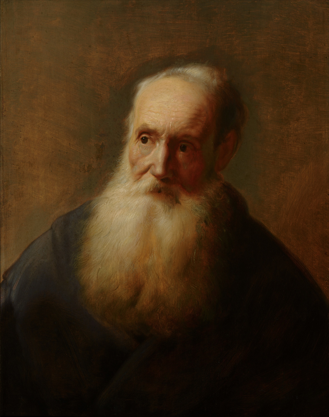 Jan Lievens. Portrait of an elderly man with a beard