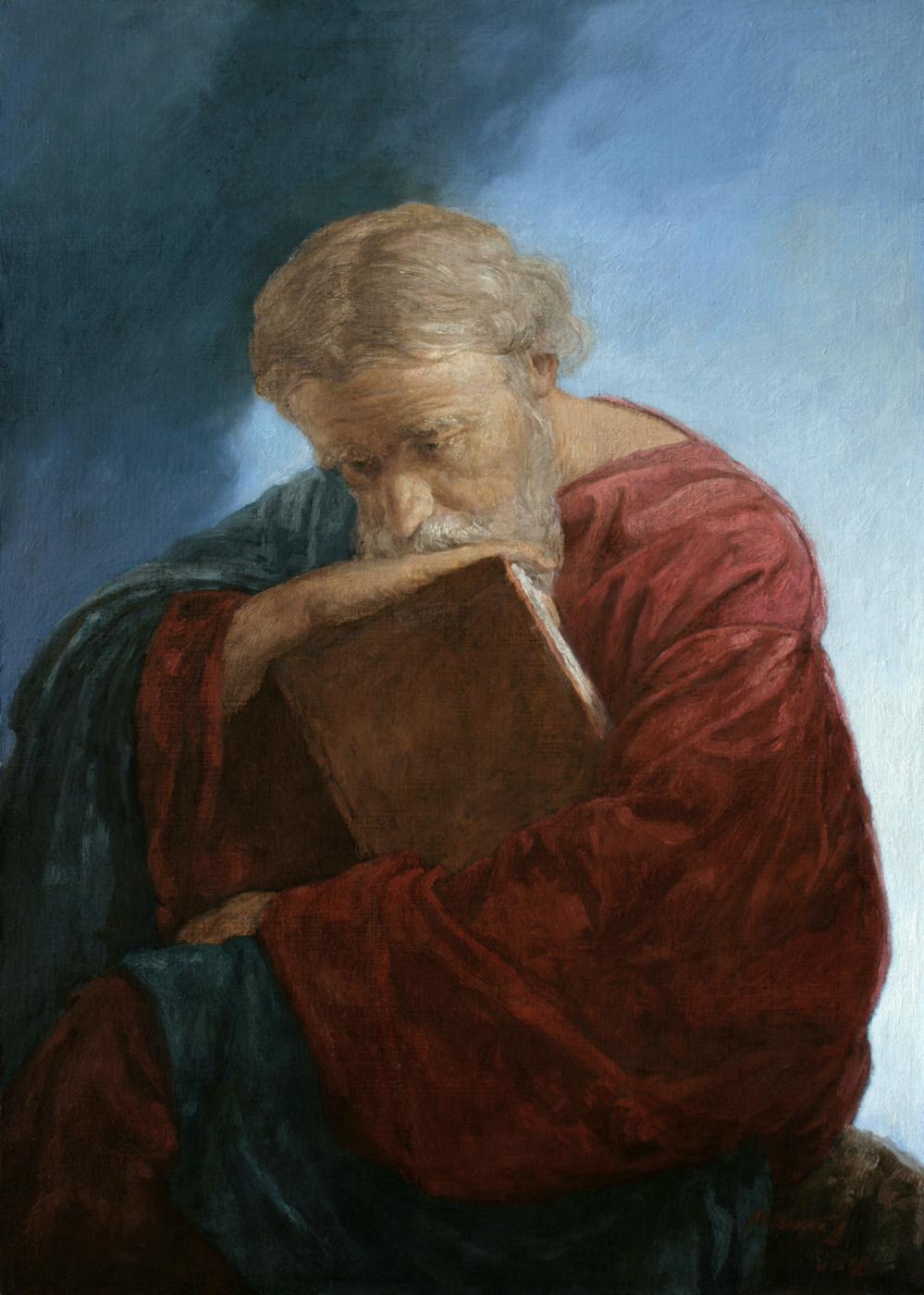 Andrey Nikolaevich Mironov. Апостол Иоанн Богослов на острове Патмос