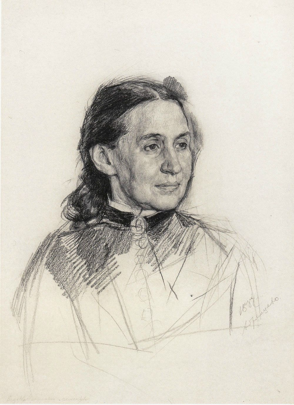 Valentin Aleksandrovich Serov. E. G. Mamontova