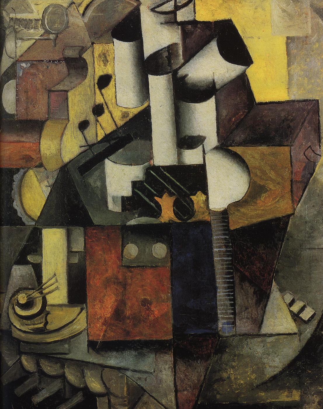 Kazimir Malevich. Musical instrument