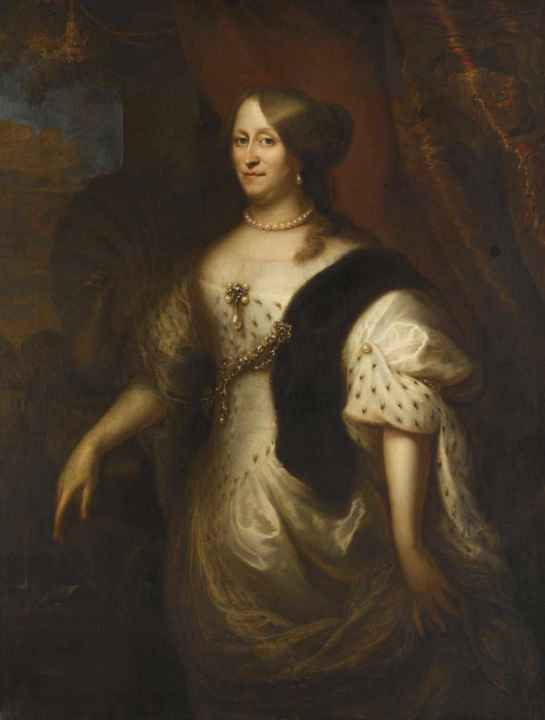 Jan Lievens. Cornelia van Teding eagle, wife of Maerta Hacerca Tromp