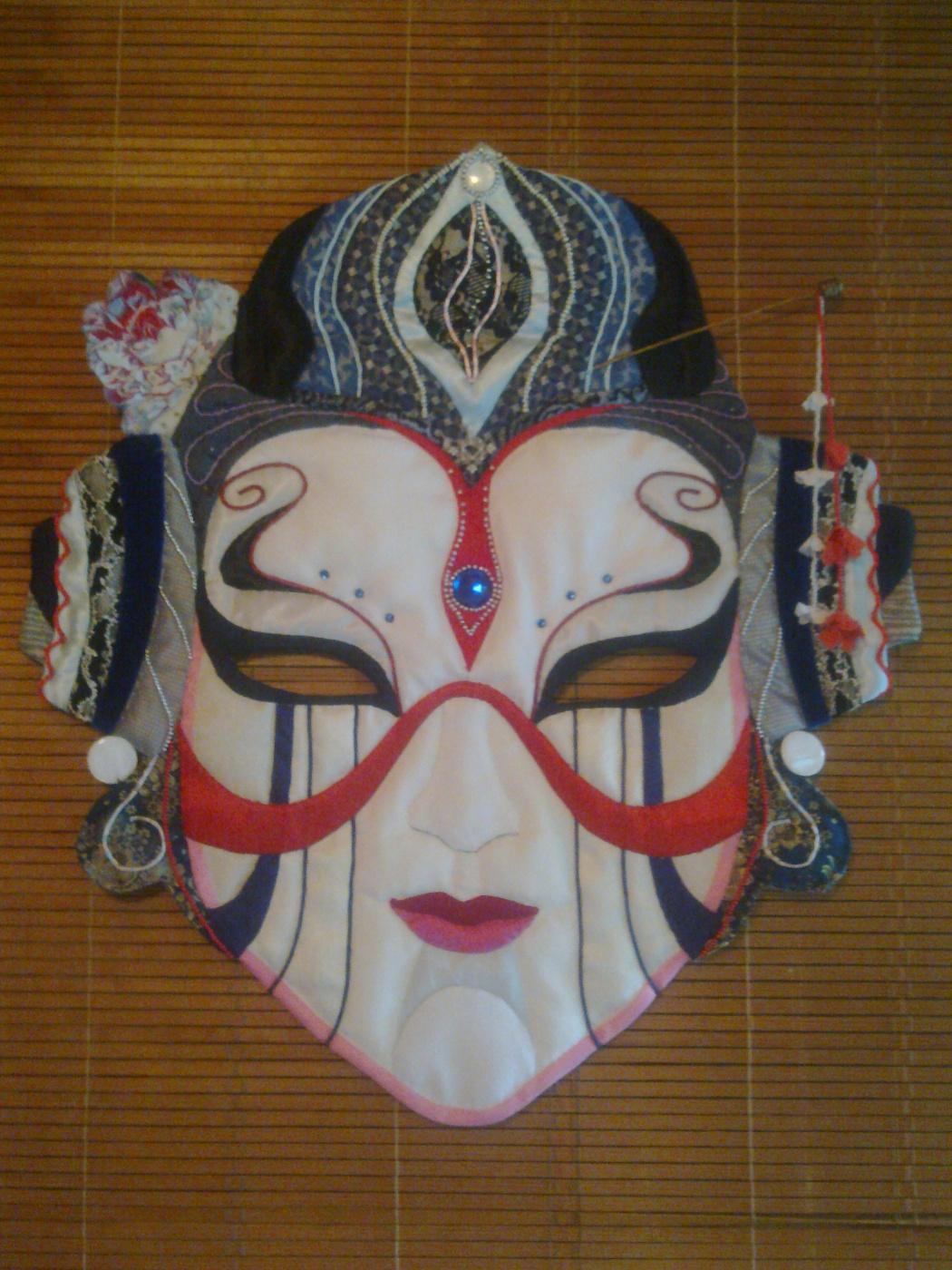 Ekaterina Valerievna Derzhavina. Mask japan