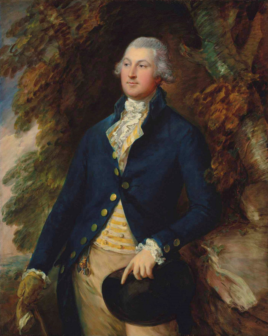 Thomas Gainsborough. Portrait of sir Richard Brooke