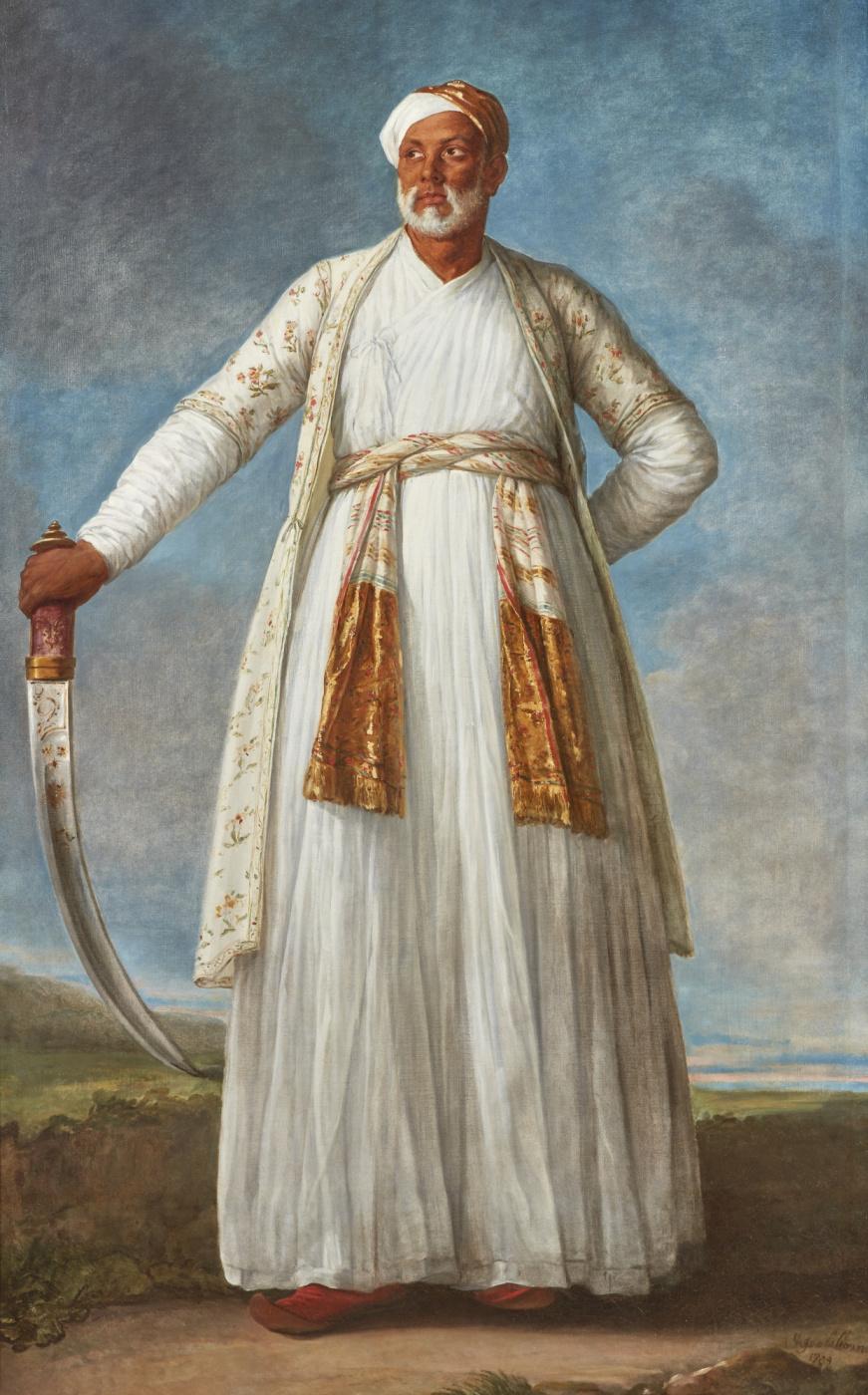 Элизабет Виже-Лебрен. Портрет Мухаммеда Дервиш-хана
