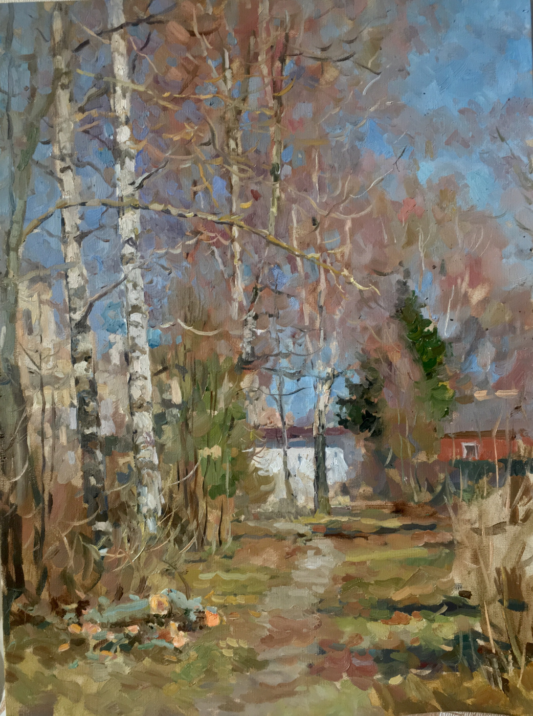 Aleksandr Chagadaev. Autumn Alley